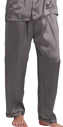 Ligero Loungewear Grau Pijamas De Spring Acogedor Momme Summer Bathing Pijama Para Ropa Long Hombres Homewear Pantalones qBwPaqO