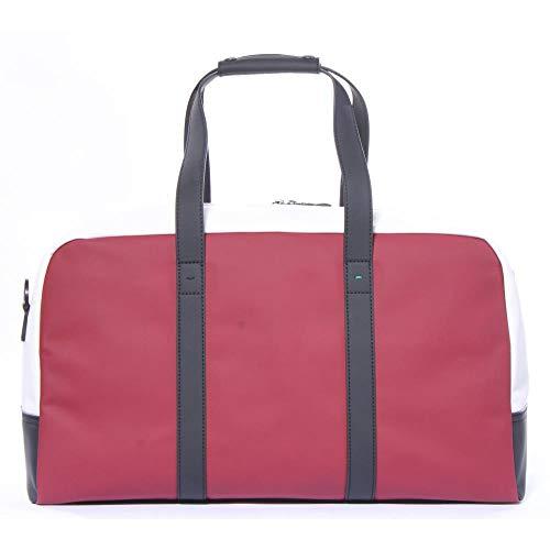 (BOSS Green Men's Hyper Athleisure Holdall Weekender Bag, medium red, One Size)