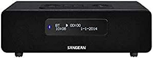 Sangean DDR-36 DAB+ radio – digitale radio met Bluetooth – wekfunctie – slaaptimer – incl. afstandsbediening – zwart