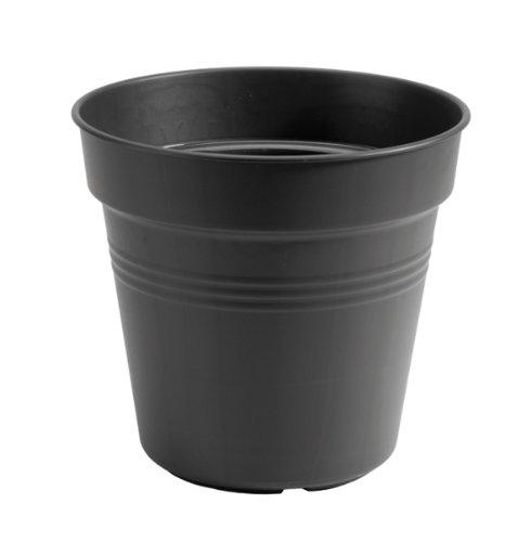 Elho 6812813043300 Anzuchttöpfe green basics, schwarz
