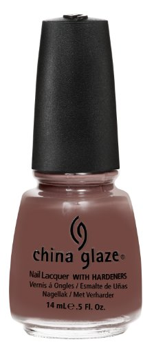 Dark Chocolate Glaze - China Glaze Nail Polish, Street Chic, 0.5 Fluid Ounce