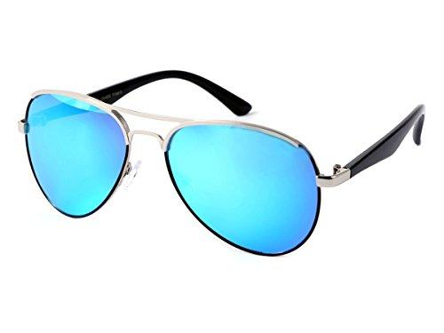 femme sport 110 style d'une blau police avec Lunettes de Aviator Alsino homme soleil look type très pilote monture LOOX fashion Miami souple moderne tendance jeune raffiné design élégance certaine vintages et wXSpqX