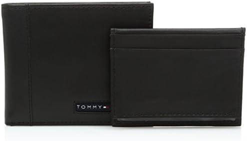 5d2a1613a0a9 Tommy Hilfiger Men's Cambridge Passcase Billfold Wallet [31TL22X063 ...