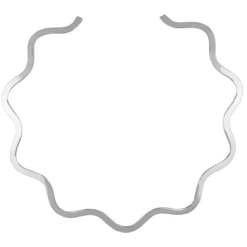 Alpaca Silver Choker Waves Neck product image