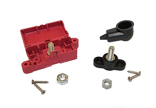 - 103004 Battery Junction Box Red and Black Stud