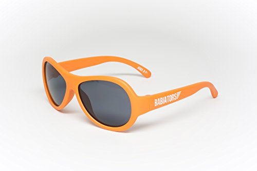 Babiators Original Aviator Sunglasses OMG! Orange Junior 0-3 - Imported Sunglasses