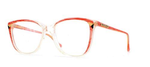 Pilar Crespi - Monture de lunettes - Femme Transparent Clear Red