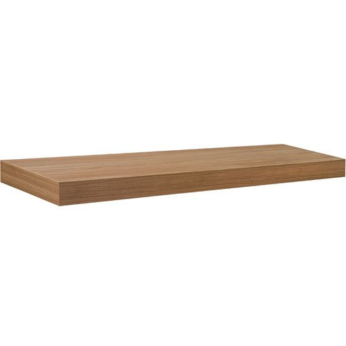 Dolle Shelving 35.5'' x 10'' Big Boy Natural Floating Shelf with Two Invisible Brackets