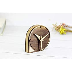 Wood Mini table Clock