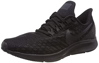 Nike Australia Men's Air Zoom Pegasus 35 Running Shoes, Black/Oil Grey-White, 10 US