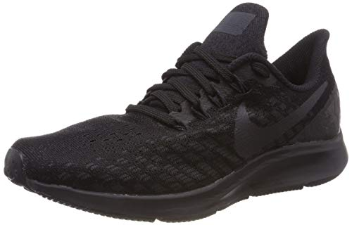 Nike Men's Air Zoom Pegasus 35 Running Shoe Black/White/Oil Grey 6.5 M US by Nike (Image #8)