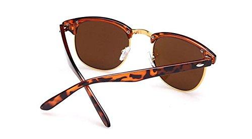 en Lennon de de retro style métallique rond inspirées polarisées du vintage Thé soleil Tranche cercle A lunettes HdwzqTT