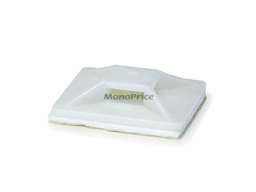 Monoprice Cable mounts 30x30 white