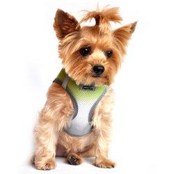 - DOGGIE DESIGN American River Dog Harness Ombre Collection - Limestone Gray