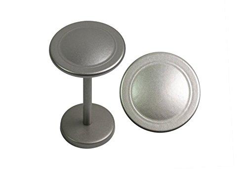 Urbanest Button Medallion Drapery Holdback (2 pcs, Pewter)