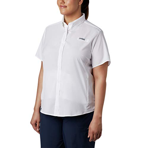Tamiami Fishing Shirt - Columbia Women's Tamiami II Short Sleeve Fishing Shirt (White, Large)