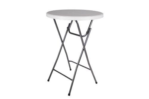 Partytisch Stehtisch 110 cm rund klappbar Bistrotisch Bartisch Gartentisch