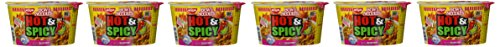Nissin Hot & Spicy Shrimp Bowl - 6 Pack by Nissin