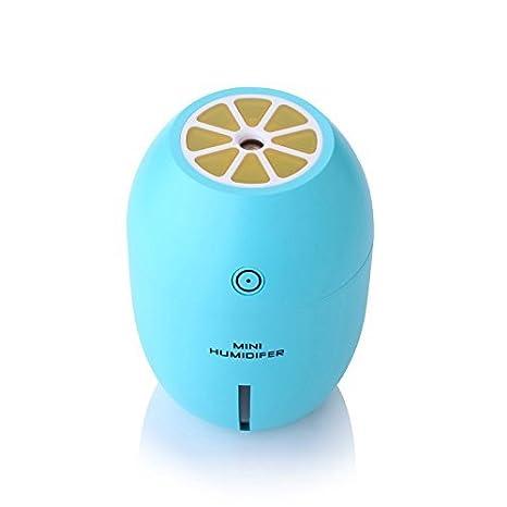 Best País portátil Mini USB humidificador con LED Noche luces Limón de tipo ultrasónico Humidificador Purifier