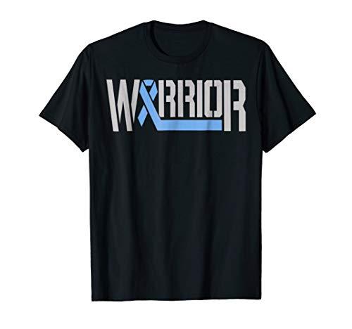 diabetic tshirt-diabetes awareness warrior blue ribbon shirt -