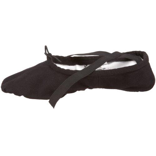 Sansha Ballettschläppchen Pro1C für Erwachsene Black