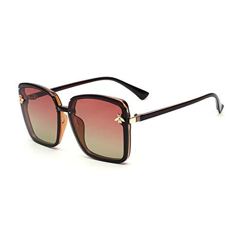 elegante Honey Bee on Lenses Butterfly Sunglasses for Women