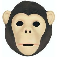 Wild Republic Mask 21 x 19cm For Children And Adults Chimpanzee