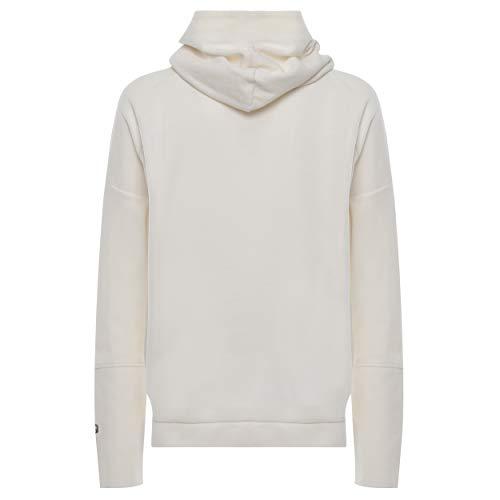 Molletonné Avec Cream Direct Irisé Teint Coton Large Sweat Imprimé Grand En shirt Pièce Cannoli Dyed nZx0nST1