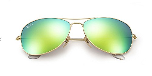 Cockpit Ray ban 59mm Green Sunglasses 19 Flash Rb3362 Gold 112 Cq7Aw5q