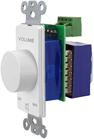 Rockville VOL7035 White 35w 70v Wall Volume Control Zone Controllers 4