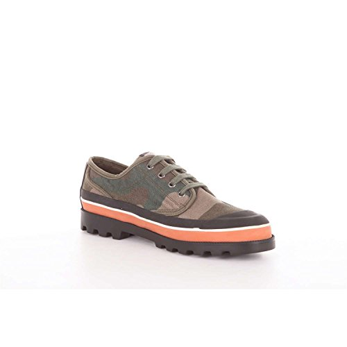 VALENTINO GARAVANI MY0S0967AWS Sneakers Uomo Verde Militare