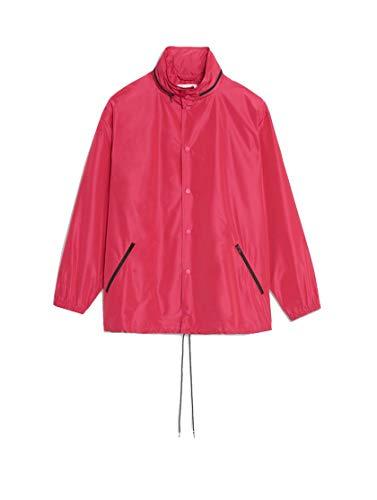 Balenciaga Luxury Fashion Womens 556168TYD365510 Purple Outerwear Jacket | Fall Winter 19