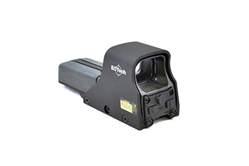 EOTech Holographic Red Dot Sight that runs on AA Batteries