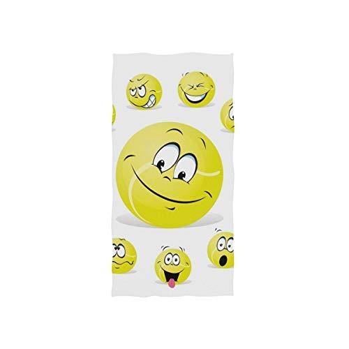 (Tennis Ball Hand Towel Ultra Soft Luxury Towels for Bathroom 30