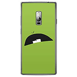 Loud Universe OnePlus 2 Smileys 2 Printed Transparent Edge Case - Green