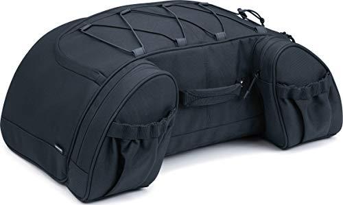 Saddlebag Racks (Kuryakyn 5281 Momentum Hitchhiker Motorcycle Travel Luggage: Weather Resistant Trunk Rack Bag, Black)