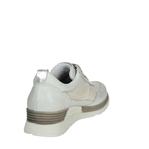 Mujer PAF18602 De Cinzia Blanco Soft Deporte Zapatillas 001 Bajas 5UqIqw0
