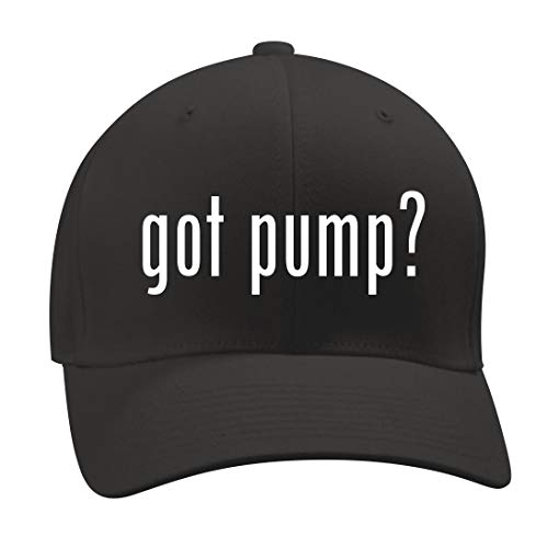 got Pump? - A Nice Men's Adult Baseball Hat Cap, Black, Large/X-Large