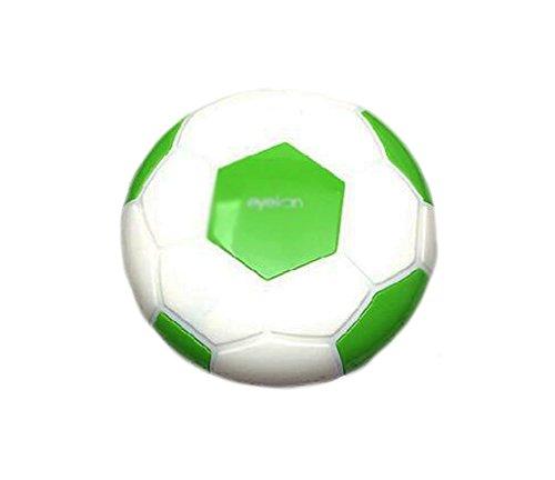 Creative Soccer Contact Lens Cases For Men Or Women-Green (Cheap Coloured Contact Lenses)