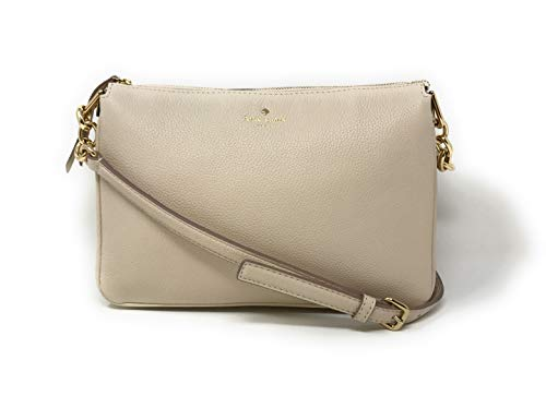 Kate Spade New York Madelyne Larchmont Avenue Crossbody Shoulder Bag (Soft Limestone) ()