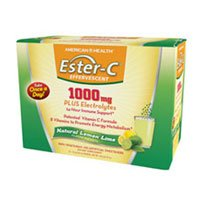 Effervescent Powder Packets (Solgar Ester-C 1000 mg Effervescent Powder Packets Lemon Lime, Lemon Lime 21 packets (Pack of 3))