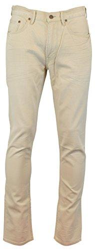 Polo Ralph Lauren Men's Varick Stretch Slim Straight Fit Corduroy Pants 32W x 34L Stone Grey ()