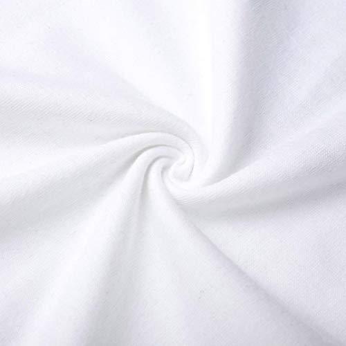 Dessus Oblique Longues croise Femme Chemise OSYARD Femme Polyester Blanche Rose Papillon en Chemise Polyester Manches Vif Impression Pzxq7f