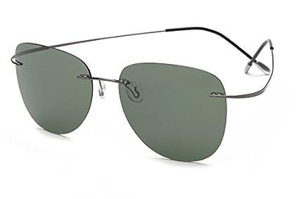 TL-Sunglasses Silueta de Titanio 100% Gafas de Sol Polaroid ...