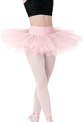 Balera Classic Ballet Tutu with Built-In Brief Ballet Pink Child (Platter Tutu Ballet)