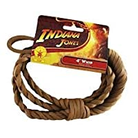 4 'Indiana Jones Whip - Accesorio para disfraces de Halloween