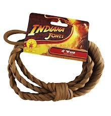 4 'Indiana Jones Whip - Accesorio para disfraces de Halloween