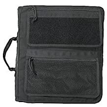 "Tactical 3-Ring XXtra Large Binder Briefcase (Fits 3"" TO 4"" Rings), All-Weather Zippered Binder Cover, Notebook Case"