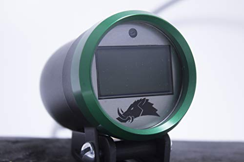 Belt Temperature Gauge w/Infrared Sensor (for UTVs and Snowmobiles) - 3.0 Edition (Snowmobile, Green)
