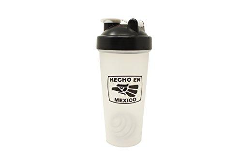 'Hecho en Mexico' Agitador de Proteínas Botella con Mezcladora para Batidos de Proteína